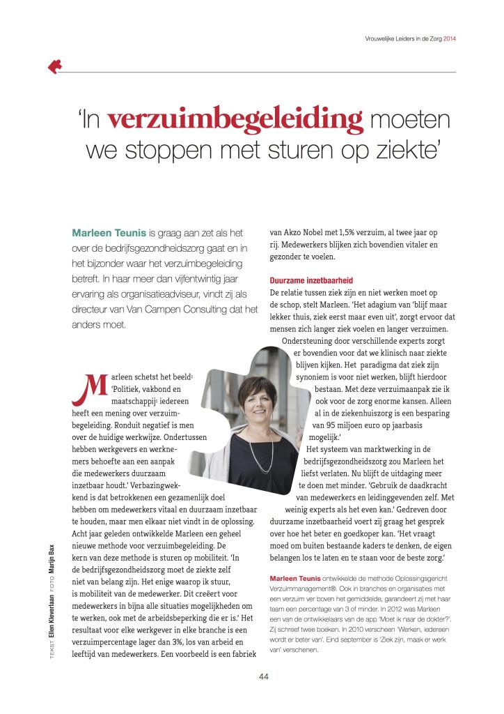 Vrouwelijke leiders-Marleen Teunis